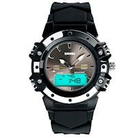 Reloj Skmei Moda Dama 0821 Deportivo Acuatico Cronometro Antigolpe Negro