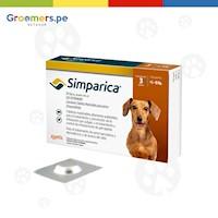 Antipulgas para Perros - SIMPARICA (5 - 10 kg) Unidad