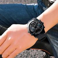 Reloj Skmei 1355 Doble Pantalla Digital Analógico Deportivo Acuático Moda Azul