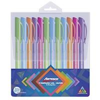 Estuche Boligrafo Trimax GL-32m Colors x 12