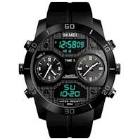 Reloj Skmei 1355 Doble Pantalla Digital Analógico Deportivo Elegante Acuático