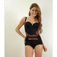 Body  1026 senos libres cahetero térmico levantacola licra y nylon negro