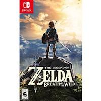 Nintendo Switch Juego The Legend Of Zelda - Breath Of The Wild