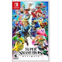 Nintendo Switch Juego Super Smash Bros Ultimate