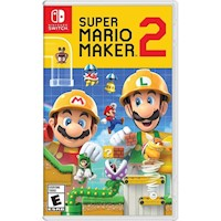 Nintendo Switch Juego Super Mario Maker 2