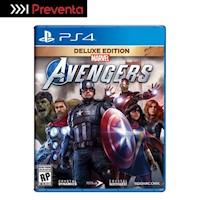 Preventa Ps4 Juego Marvel'S Avengers - Deluxe + Regalo