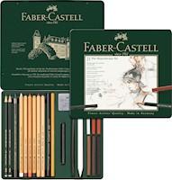 Set de lápices Pitt Monochrome estuche x 21