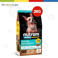 COMIDA PARA PERROS - NUTRAM T28 TOTAL GRAIN-FREE SALMON & TROUT SMALL 2 KG