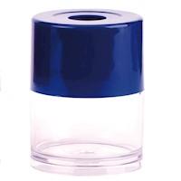 Portaclips Cilindrico azul