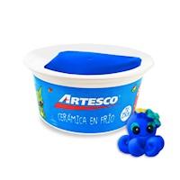 Cerámica en Frío  250 gr Azul