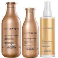 Shampoo + Acondicionador + Spray 10 en 1 L'Oreal Absolut Repair
