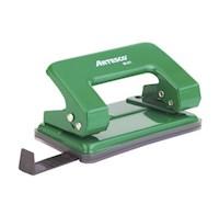 Perforador Escolar  M-01 Verde
