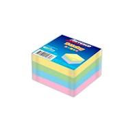 "Notas Adhesivas Cubo 3"" x 3"" 4 Col X 100H Pastel  (654)"