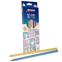 Colores Triangulares Largos Pasteles x 10 unids.