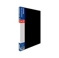 Catálogo Flex x 10 Fundas  A-4 Negro