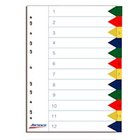 Separadores Index PP 12 Div.
