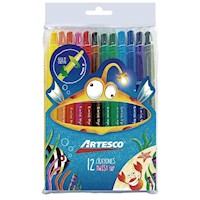 Crayones Twist up x 12 unids.