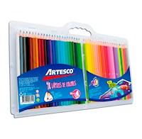 Artesco - Colores triangulares largos x 48 unids.