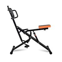 Máquina para Abdominales Sport Fitness + Piston 12Niv-Negro