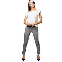 Pantalon Color Siete para Mujer-Negro