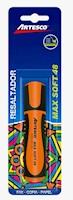 Blist. Resaltador Max Soft 48 Naranja x 1 unid.