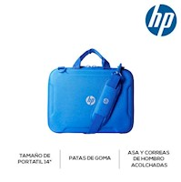HP Maletin Chromebook 14 - Azul