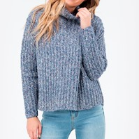 CHOMPA PRISM KNIT TURTLENEC