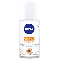 Desodorante Nivea Roll On Stress Protect Women 50 Ml
