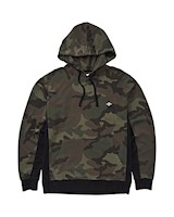 WAVE WASHED PULLOVER CAMO