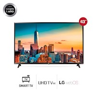 "Tv Led 4k Lg 43"" 43uj6300 Smart Tv Ultra Hd - Negro"