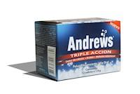 ANDREWS TRIPLE ACCION SACHET X 7,9 G CAJA X 12