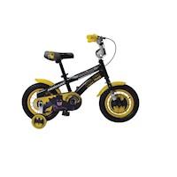 "Bicicleta Monark Batman Aro 12"" Negro"