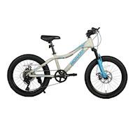 "Bicicleta Monark Mirage Aro 20"" Gris Celeste"