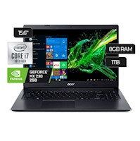 "Laptop Acer Aspire 3 A315 - 55G - 79LN Core i7 8GB DDR4 1TB 15.6"" HD"