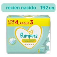 Pampers Toallitas Húmedas Recién Nacido 192 unidades (4x2)