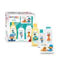 POCOYO GIFT SET 4 PCS (talco, aceite, jabón, shampoo)