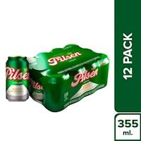 Pilsen Callao  - Cerveza Pilsen Twelve Pack Lata 355 Ml