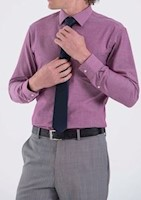 Van Heusen Formal Camisa formal BURDEO