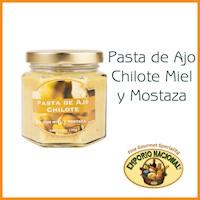 Pasta de Ajo Chilote Miel y Mostaza