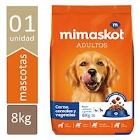 MIMASKOT Carne/Cereal/Vegetales x8kg.