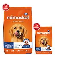 MIMASKOT Carne/Cereal/Vegetales 15 KG + 1 KG gratis