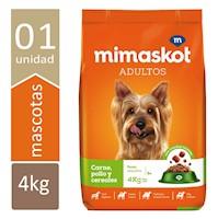 Mimaskot Adultos de Razas Pequeñas x4kg.