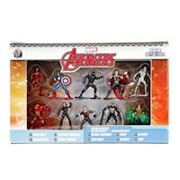 Figura de Acción Metalfigs Marvel Pack 10