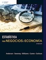 ESTADISTICA PARA NEGOCIOS Y ECONOMIA 12ED.