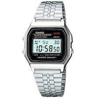 Reloj CASIO Digital Plateado A-159WAN-1D para Unisex
