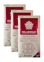 Chocolate Bitter con Arándanos. Pack de 3 tabletas de 70g cada una. Sugar Free.