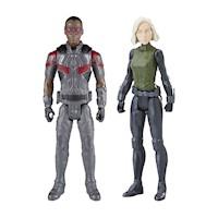 Figura de acción Avengers- Combo 3 - Falcon/Widow