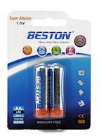 Baterías Super Alcalinas AA 1.5V Beston BST-LR6x2