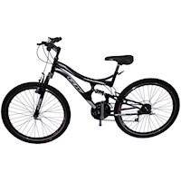 Bicicleta Todoterreno Gw Dione Rin 26 Shimano Tipo Moto - Negro Mate