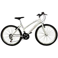 Bicicleta Todoterreno Rin 20 X 2 Con Cambios - Blanca